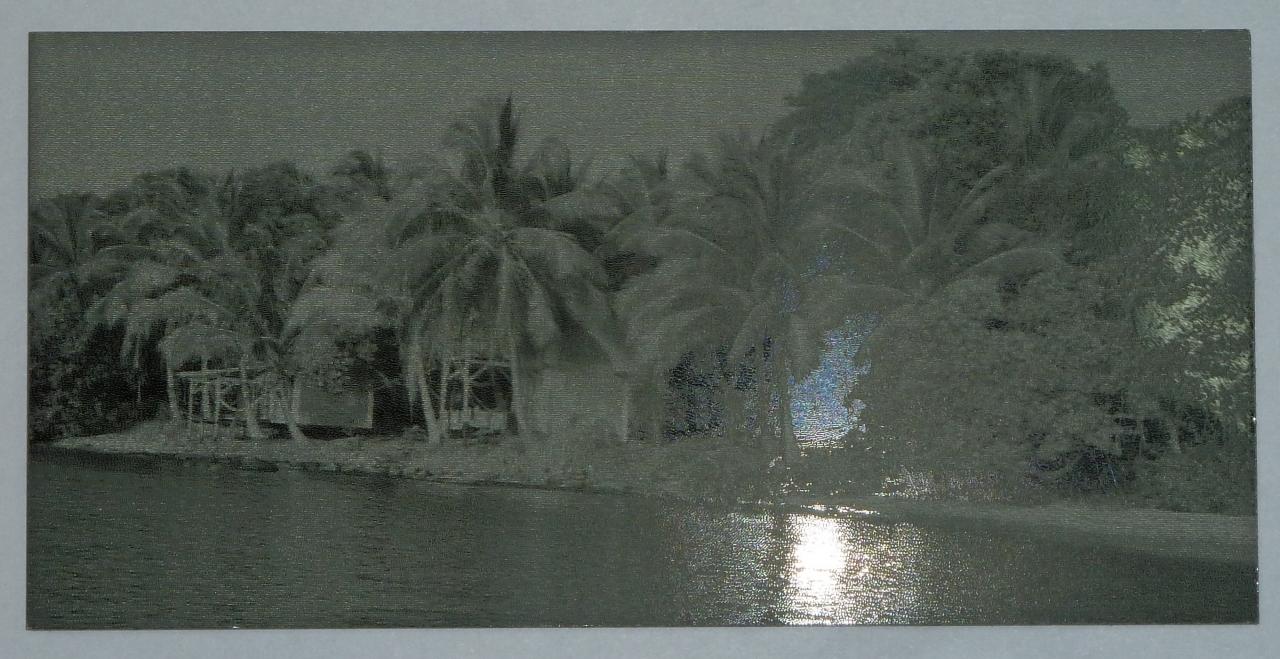 Photogravure sur alu eloxé