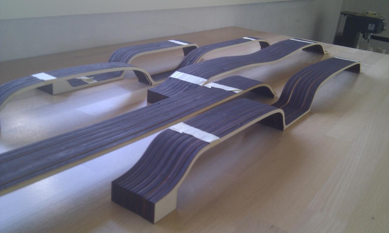 maquette de toiture en bois 1