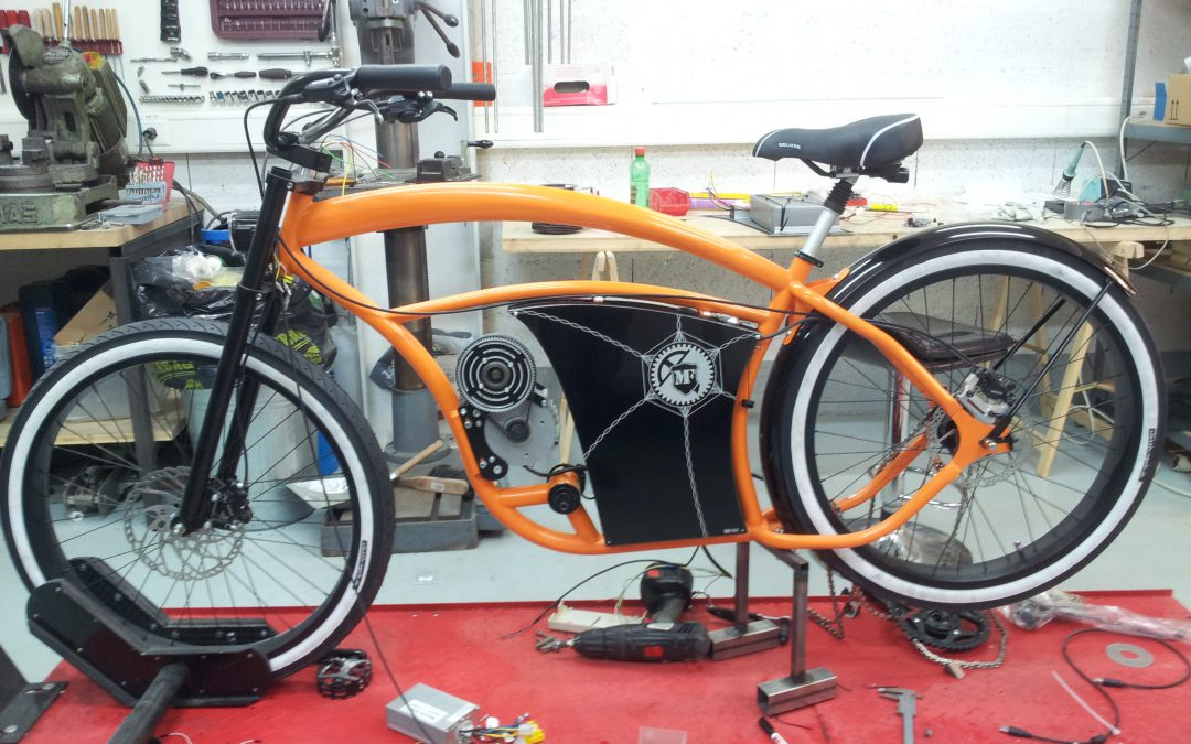 Project MF-01 (custom electric bike)