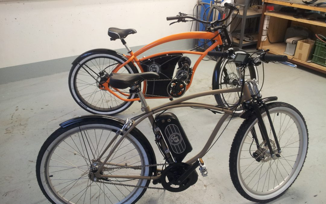 Project MF 02 (Custom electric bike)