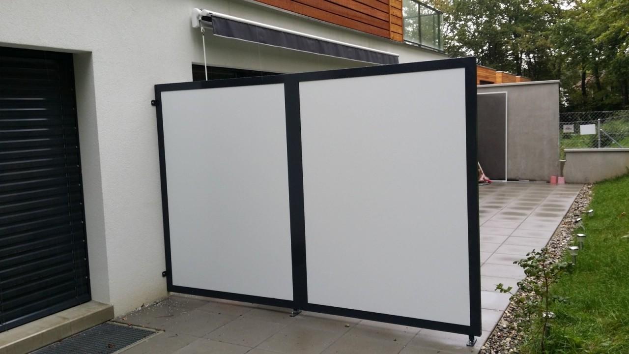cloison de s paration pour terrasse atelier federico. Black Bedroom Furniture Sets. Home Design Ideas