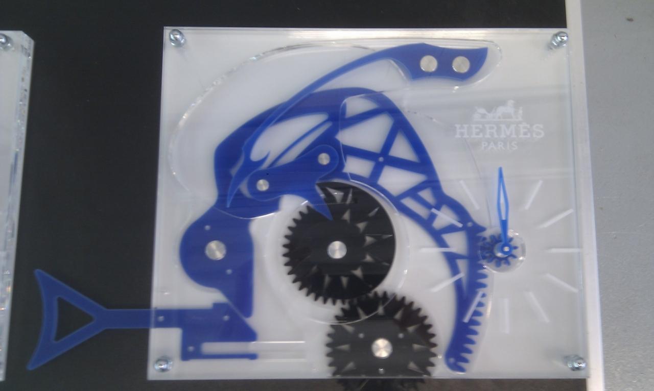 Maquettes d'horlogerie du temps suspendus